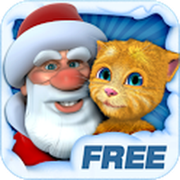 Ikona apk Talking Santa meets Ginger