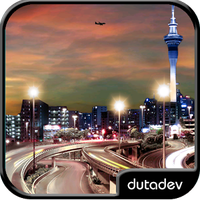 Ícone do apk Night City Live Wallpaper HD