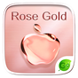 Rose Gold GO Keyboard Theme