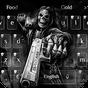 Tema morte Crânio Gun 3d 10001008