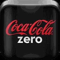 Ícone do Coca-Cola Zero Música