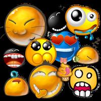 Ícone do apk Emoticons para bate-papos