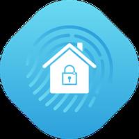 Ikon Rumah Keamanan Sistem Monitor