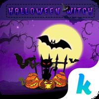Halloween Witch Keyboard Theme Simgesi