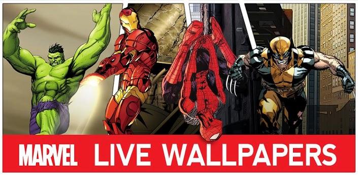 Téléchargezmarvel Heroes Live Wallpaper 181 Apk Gratuit Pour Votre