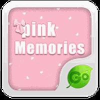 GOKeyboard Pink Memories theme APK Icon