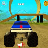 Иконка Monster Truck гонки герой 3D
