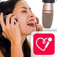 Red Karaoke Sing & Record APK icon