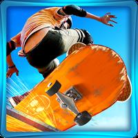 Icône de Skateboard réel 3D