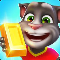 Иконка Говорящий Том: бег за золотом