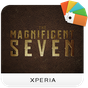 XPERIA™ Magnificent 7 Theme 1.0.1