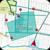 Icoană apk GPS Teren Măsurare - GPS traseu ghid