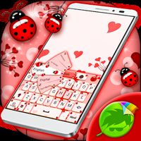 Ícone do apk Ladybug Keyboard Tema
