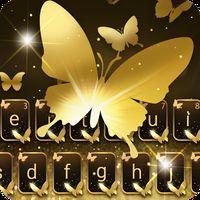 Altın Kelebek Klavye Teması Simgesi