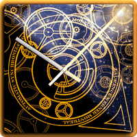 Hypno Clock Live Wallpaper icon