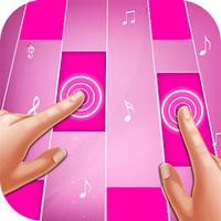 Pink Piano Tiles Simgesi