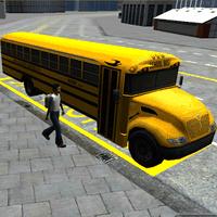 Schoolbus driving 3D simulasi