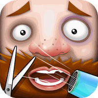 Εικονίδιο του Crazy Beard Salon - free games apk
