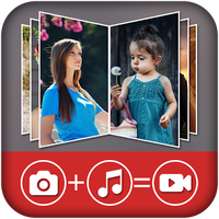 Image to video movie maker apk icon