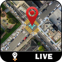 GPS Live Map & Street View - Satellietnavigator icon