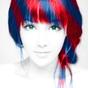 El cabello y color de ojos