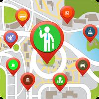 Biểu tượng Khoảng Me Places Tracker