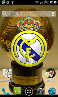 Real madrid 3d live wallpaper android free download real madrid real madrid 3d live wallpaper image 1 voltagebd Gallery