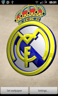 Real madrid 3d live wallpaper android free download real madrid 3d real madrid 3d live wallpaper image 4 voltagebd Gallery