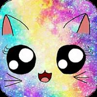Galaxy Cute Kitty Sparkle Theme icon