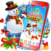 Ícone do apk Christmas live wallpaper
