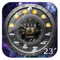Weather and Analog Clock Widget icon