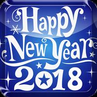 Ikon Tahun Baru Kertas Dinding