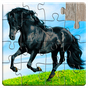 Horse games - Jigsaw Puzzles 21.5