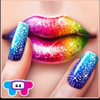 Ikona apk Glitter Makeup - Sparkle Salon