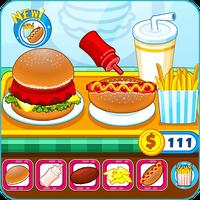 Icono de Hamburguesería y comida rápida