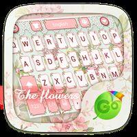 Ícone do apk The Flowers GO Keyboard Theme