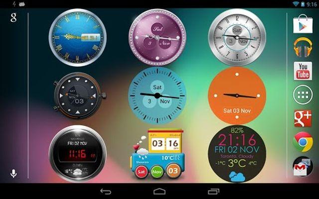 Image of Beautiful Clock Widget Pro