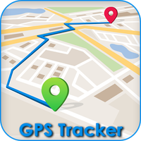Ícone do GPS Route finder & Navigation