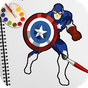 Superhero Coloring Book Pages: Kids Coloring Games 1.7