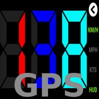 GPS HUD Velocímetro