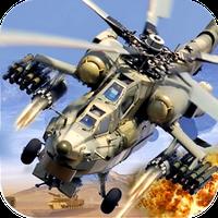 Helicopter Gunship Strike Simgesi