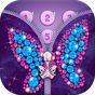 Diamond Butterfly Zipper Screen Lock 1.3