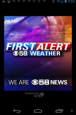 CBS 58 Ready Weather Android - Free Download CBS 58 Ready Weather