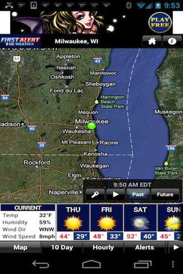 CBS 58 Ready Weather Android - Free Download CBS 58 Ready