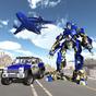 Polis uçak taşıma Oyunu - Transform Robot araba  APK