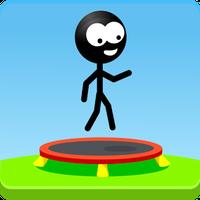 Ícone do Trampoline Man (Stickman Game)