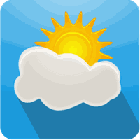Ícone do 3D Parallax Weather
