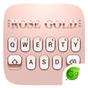 Rose Gold 2018 GO Keyboard Theme 4.5