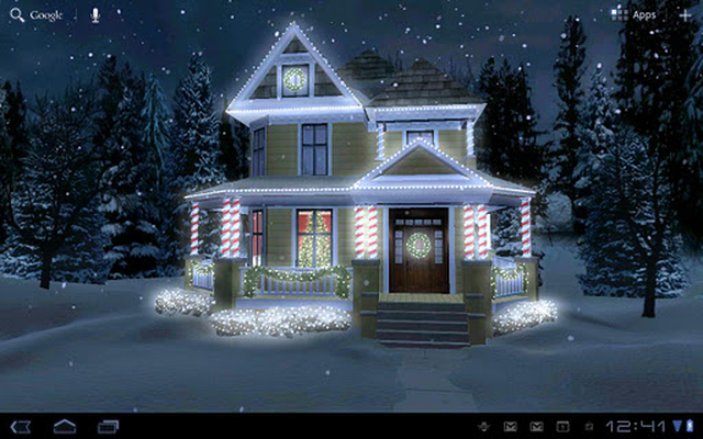 Holiday Lights Live Wallpaper Android