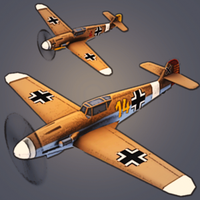 Tap Flight Wings : Beyond Tail - WW2 icon